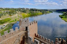 Os templários em #Portugal, o #castelo de #almourol #visitportugal