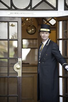 Doorman @The Belmont Hotel Sidmouth www.belmont-hotel.co.uk
