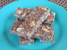 Peanut Butter Apple Cinnamon Granola Bars