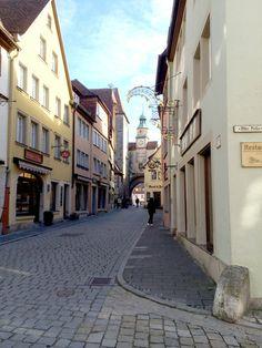 Streets of Rothenburg de ober Tauber