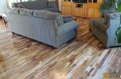 Solid Asian Walnut Acacia Blonde Hardwood Floors traditional wood flooring