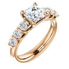 14k rose gold round halo diamond engagement ring, matching wedding band available    Order this from Bauble Patch Jewelers today!  http://baublepatch.jewelershowcase.com/browse/wedding-and-engagement/  or call (616)785-1100