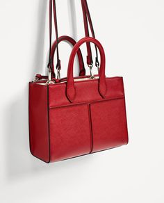 ZARA - WOMAN - MINI CITY BAG WITH POCKETS