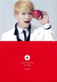 SHINee Onew Lee Jinki Lucky Star
