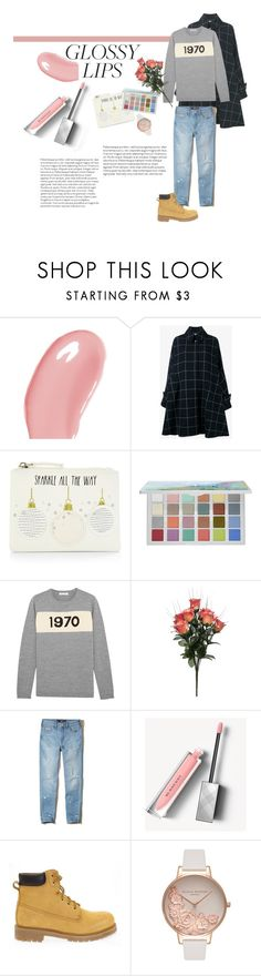 """""""no. 20"""" by cloud-free ❤ liked on Polyvore featuring beauty, Burberry, Balenciaga, Sephora Collection, Bella Freud, Hollister Co., Docksteps, Olivia Burton, Pink and makeup"""