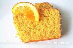 Ingredientes 250 gr. Azúcar 1 Naranja entera de zumo (sin pelar) 3 Huevos 100 gr. de aceite de girasol o 100gr demantequillaa...