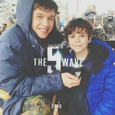 Ben parish and sammy the 5th Wave movie! Team Ben! Who's with me?!?