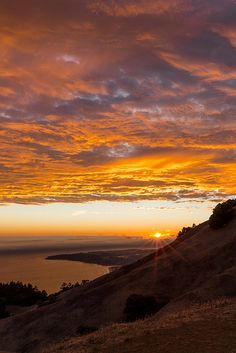 Mt. Tamalpais, California... Hiked here many, many times. Epic hike, no matter what trail you pick
