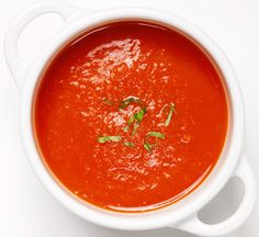 Bright Red Pepper Soup