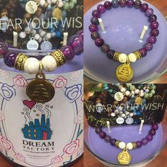 Giving back never felt (or looked) so good! Our new Twilight Rose scented Dream Factory candles and tarts come with a limited edition Dream Factory pin and one of these BEAUTIFUL Wish Upon A Rock bracelets. There are 13 different colors and styles! Which one will you get?!  myjic.net   And as if these magical candles and tarts couldn't get any better... 20% of all proceeds will be donated to the Dream Factory to help make chronically and critically ill children's dreams come true!