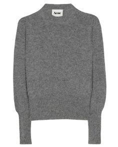 ACNE • Lia angora knit pullover