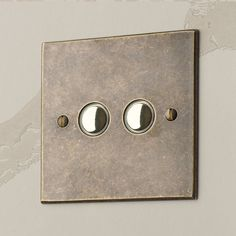 These are a #modern twist on the #traditional #dimmer #switches. They are available in a range of finishes.