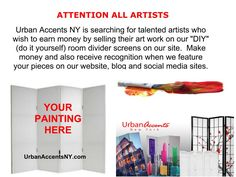 We want your artwork!!