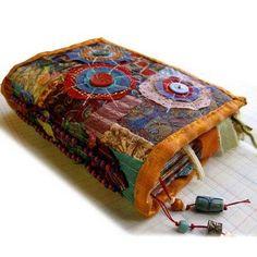 fabric art journal...love it.