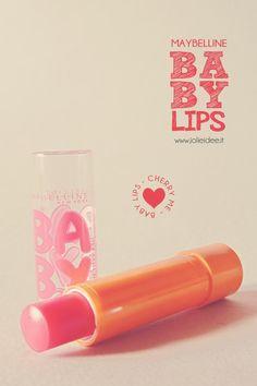 Review Baby Lips Maybelline New York - Colore e idratazione per le labbra #babylips #maybelline