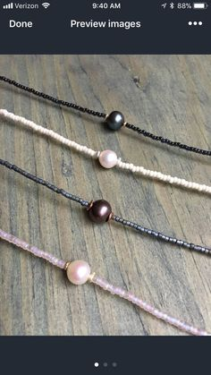 fresh water pearl strung on high quality beading wire with miyuki seed beads, lobster clasp and extender