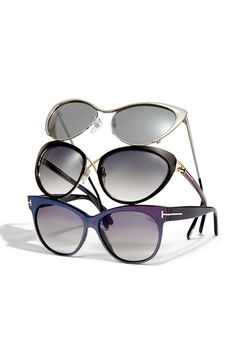 Sun's Out, Shades On: The eyes have it for Tom Ford's 'Natasya' 'Daria' and 'Saskia' sunglasses