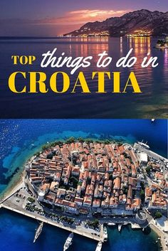 "As a local here in Croatia, I am often asked this same question, ""What are the top things to do in Croatia? Well, here is what I suggest you do on holidays in Croatia. #TRAVEL #CROATIA"