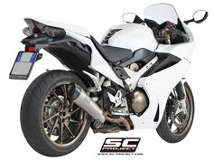 HONDA VFR 800 F BY SC-PROJECT Honda Vfr, Motorcycle Exhaust, Performance Exhaust, Exhausted, Yamaha, Racing, Bmw, Vehicles, Projects