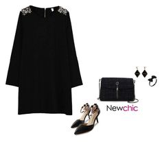 """Newchic style - glam"" by blueeyed-dreamer ❤ liked on Polyvore featuring newchic"