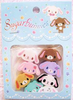 Sugar Bunnies pastel gift