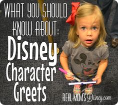 Disney Experience: What You Should Know About Character Greets