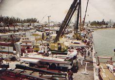 Hydroplane Races at Miami Marine Stadium, 1980's.
