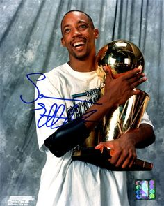 Sean Elliott, NBA star for San Antonio Spurs. Kidney transplant.