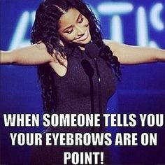 New Funny Memes About Girls Eyebrows Ideas Eyebrow Quotes, Makeup Quotes, Beauty Quotes, Beauty Bible, New Funny Memes, Funny Memes About Girls, Funny Quotes, Funny Humor, Funny Eyebrows