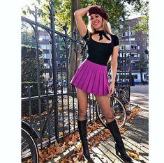 Skater Skirt, Beer, Van, Celebrities, Boots, Skirts, Instagram, Fashion, Root Beer