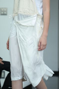 Comme des Garcons -- s/s 2013 Textiles, White Fashion, Refashion, Fashion Details, My Wardrobe, Women Wear, Street Style, Style Inspiration, My Style
