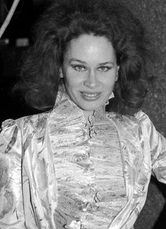 Karen Black attending a party at Halston's House in NYC, Sep. 1982