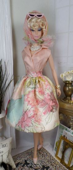 Light Travels for Silkstone Barbie and Victoire Roux OOAK  Doll Fashion