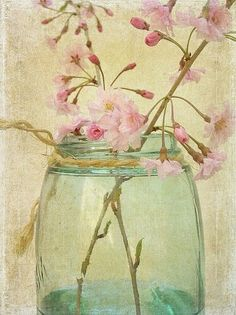 """Cherryblossoms"" ,  Watercolor"