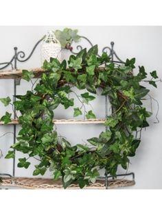 Wild Ivy, Vine & Moss Wreath