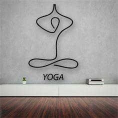 einrichtungsbeispiele asien wohnideen mobiliar yoga wände gestalten (Yoga Fitness Logo)