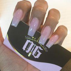 Classic fullset no polish just my nail Gawd acrylic