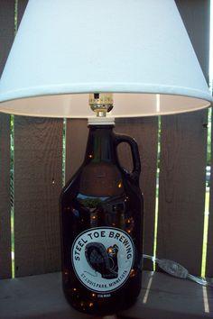 Beerbottlelamp Recycled DIY Bottle Lamps