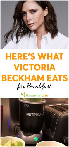 The pop star, fashion designer, and mother-of-four looks better than ever. Nutrition Diet, Health Diet, Victoria Beckham Diet, Celebrity Diets, Spice Girls, Nutribullet, Diet Tips, Star Fashion, Healthy Eating