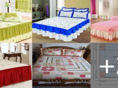COMO HACER CUBRE CAMAS PASO A PASO MUY FÁCILES Textiles, Furniture, Home Decor, Bottles, Quilt Patterns, Quilt Cover, Cat Cushion, Leaving Home, Duvet Covers