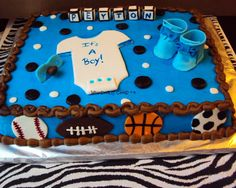 baby sport cake