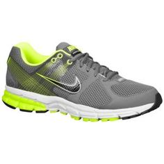 Nike Zoom Structure Triax + 15 - Men's - Running - Shoes - Dark Grey/Volt/Black
