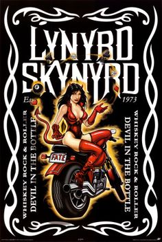 Lynyrd Skynyrd and Jack Daniels.  Match made in heaven!