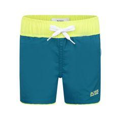 BOSS Baby Boys Teal Swimming Shorts