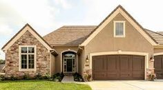 Image result for stucco colors brown roof