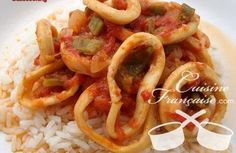 calamars en sauce provençale