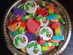 Mary LeJeune Donely:  very hungry catepillar cookie set
