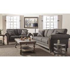 Lowest prices on Discount Windsor Court Dining Set Aico Furniture. Buy Windsor Court Dining Set Aico Furniture in a group and save more. Leather Living Room Set, New Living Room, Living Room Sets, Bedroom Sets, Living Room Chairs, Living Room Decor, Sofa And Loveseat Set, Sectional Sofas, Farmhouse Living Room Furniture