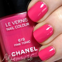 CHANEL Summer 2014 Nail Polish from Reflets D'Été de Chanel--- I don't wear much hot pink or any pink really, but I'd love this for my girls.
