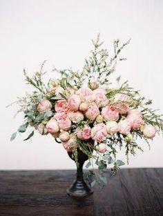 // Pink Peonies, romantic florals, wedding inspiration